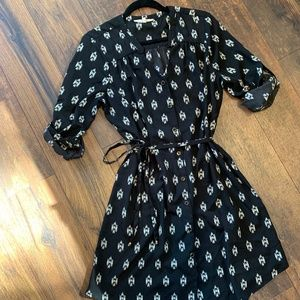 41 Hawthorn Black Cristen Shirt Dress Large